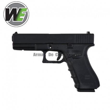 17 Negra Gen4 Pistola GBB WE-G001B-BK