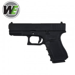 WE Tipo GLOCK 19 Gen4 Pistola airsoft Full Metal Blowback Gas
