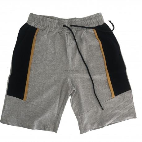 Pantalón deportivo corto Gris - Amarillo - Navy