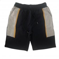 Pantalón deportivo corto Navy - Gris - Amarillo