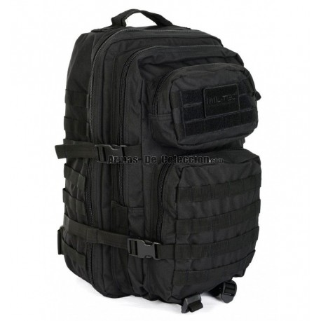 Mochila Táctica US ASSAULT Mil-Tec LG 36L. Negro