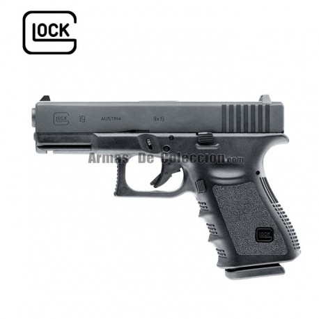 Glock 19 - 6mm - Gas - BlowBack - Corredera Metalica