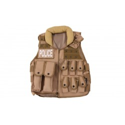 Tactical Police Tan Delta Tactics Vest V15