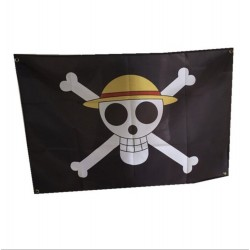 One Piece: Bandera pirata Luffy Jolly Roger