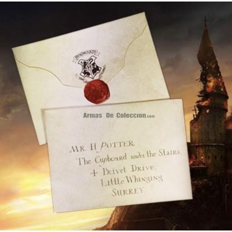 Harry Potter : Carta de admisión a Hogwarts