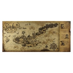 Tom Sawyer : Mapa de la Isla de los Piratas