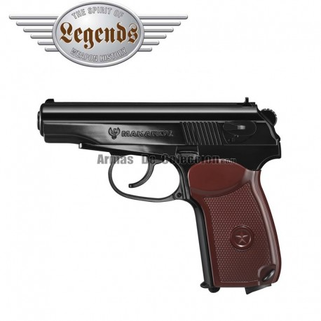 Legends Makarov Pistol 4.5MM CO2