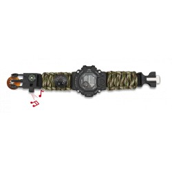 Paracord Barbaric Digital Watch + accessories