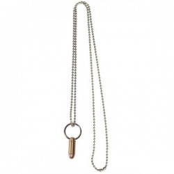 Small Bullet Pendant 90339 Gold