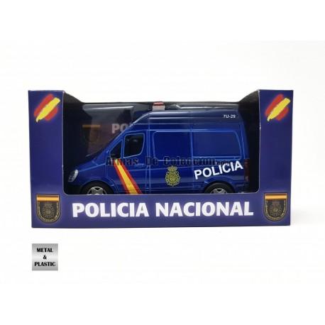 Furgoneta Policía nacional