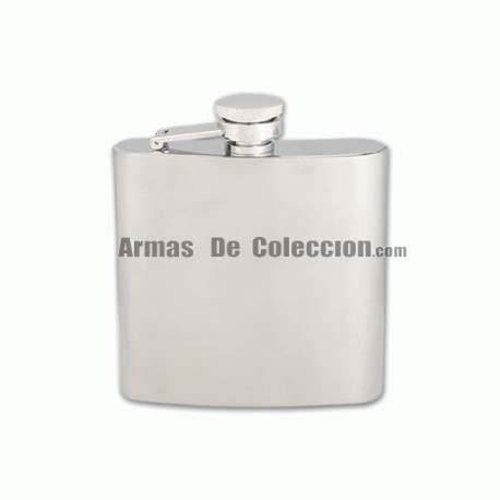 Crossnar flask Steel 180 ML Silver