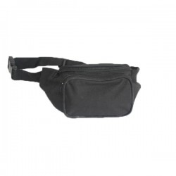 Bum bag Miltec Nylon Black