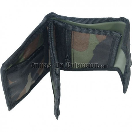 Nylon Camo Wallet