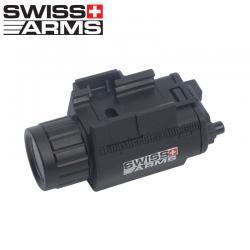 Lanterna tática compacta para Picatinny 3W/ 138 Lumen