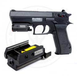 Micro laser rails Picatinny