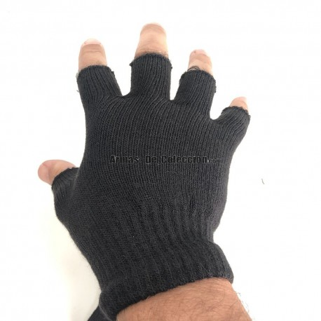Magic Acrylic Gloves Black Fingers