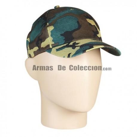 Baseball Cap Camo
