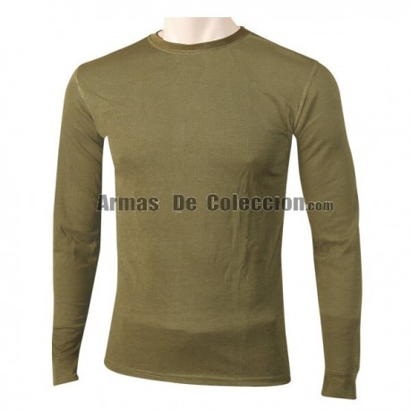 Foraventure Thermal Long Sleeve Green Shirt
