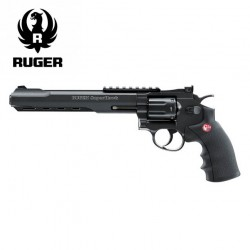 "Revólver Ruger SuperHawk 8"" negro - 6MM - CO2 - Full Metal"