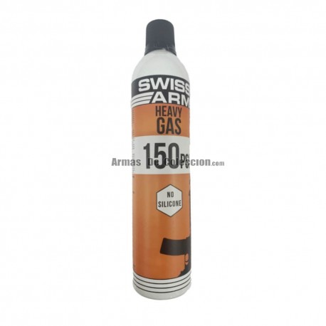 Gas SWISS ARMS HEAVY GAS 150PSI 600ML