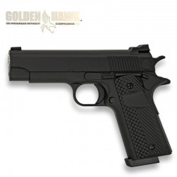 Golden Hawk Tipo Colt Combat 1911 - METAL - Pistola muelle - 6mm