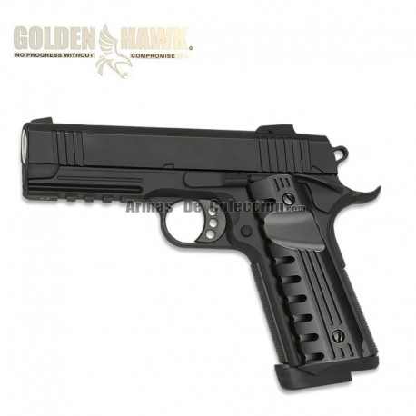 Golden Hawk Tipo HI CAPA UNIT - METAL - Pistola muelle - 6mm