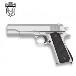 Golden Eagle Tipo Colt 1911 SILVER - METAL - Pistola muelle - 6mm
