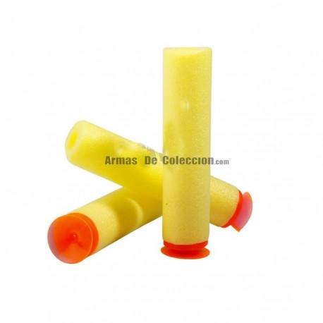 Pistola de juguete tres dardos nerf
