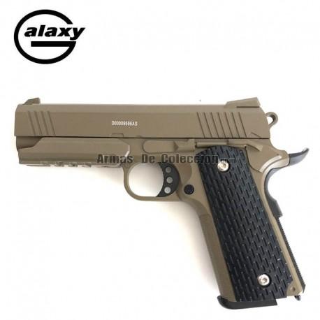Galaxy G25 DESERT FULL METAL tipo Warrior - Pistola Muelle - 6 mm