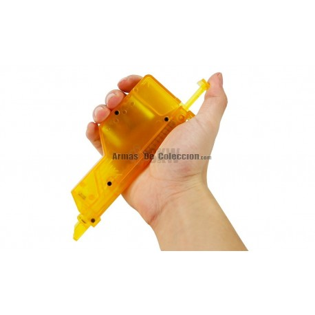 Tico Tico Cargador Rápido 400 Bs DELTA TACTICS Amarillo translucido