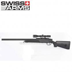 Sniper Black Eagle M6 Swiss Arms (funcionamento a mola)