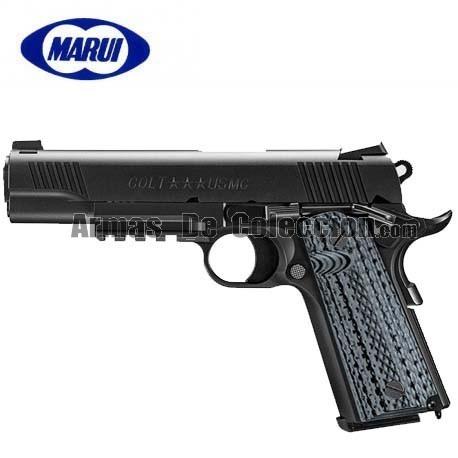 Tokyo Marui Colt USMC M45A1 BLACK Pistola 6MM Gas BLOW BACK