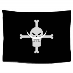One Piece: Bandera Piratas de Barbablanca