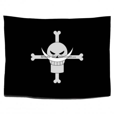 One Piece: Bandera Piratas de Barbablanca