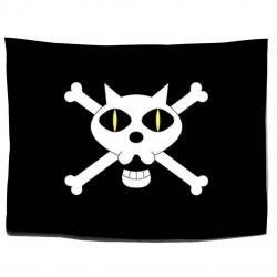 One Piece: Bandera Piratas del Gato Negro