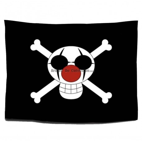 One Piece: Bandera Piratas de Buggy