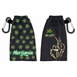 PORTAMASCARILLAS REVERSIBLE MARIJUANA
