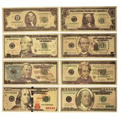 Colección replicas de Dólares americanos