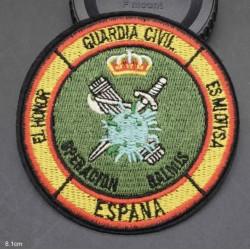 Parche Guardia Civil Operación Balmis