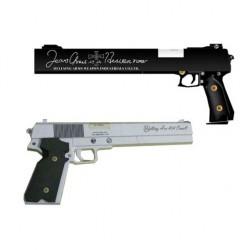 Hellsing - Recortable 3D pistolas Casull y Jackal de Alucard(Hellsing)