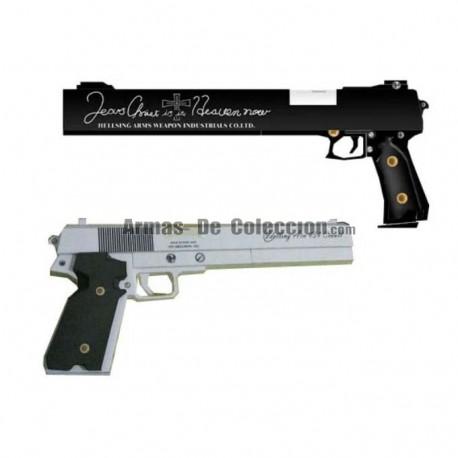 Recortadle 3D pistolas Casull y Jackal de Alucard(Hellsing)