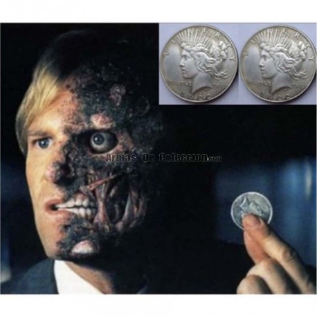 BATMAN - Moneda de dos caras de Two-Face