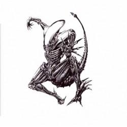 Tatuaje Temporal Alien