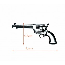 Tatuaje revólver Colt Peacemaker