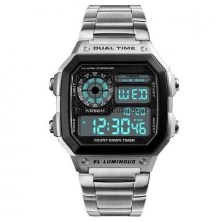 Reloj Retro Punk años 80 tipo James Bond