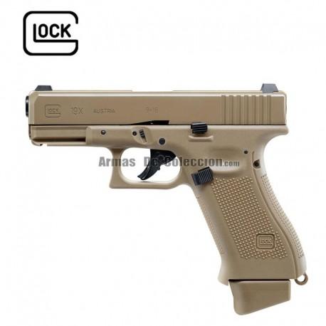 GLOCK 19X - 6mm - CO2 - Blow Back - corredera metálica