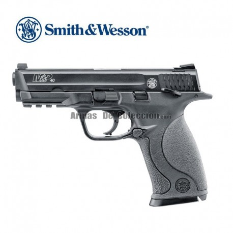 Smith & Wesson M&P40 TS - 6mm - CO2 - Blow Back - corredera metálica