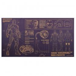 Iron Man : Lámina plano Prototipo del Mark 6