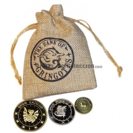 Harry Potter: Monedas del Banco Gringotts