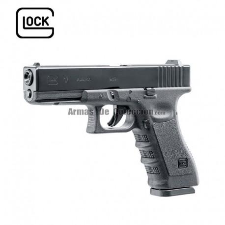 Glock 17 Original- 4.5 mm bbs / pellets - CO2 - BlowBack - Corredera Metalica